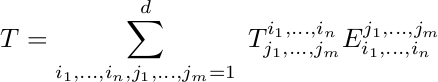 Expression of tensor product in basis, bad formatting