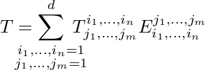 Expression of tensor product in basis, best formatting